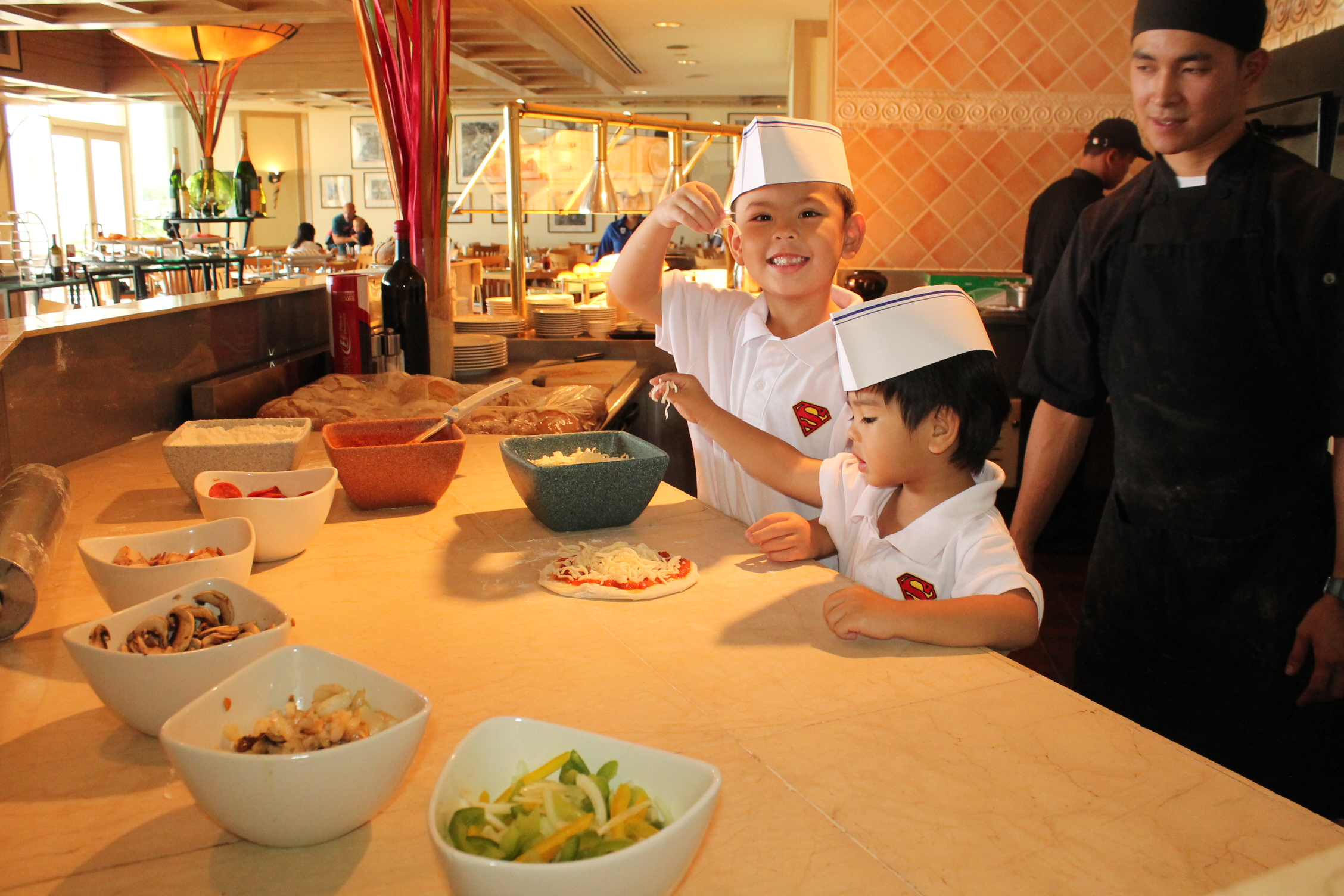 A fresh experience for kid's making own pasta